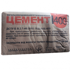 """Цемент М 400 (25 кг), """"Торгбуд"""""""
