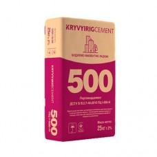 Цемент Криворізький ПЦ І-500-Н Д0, 25 кг