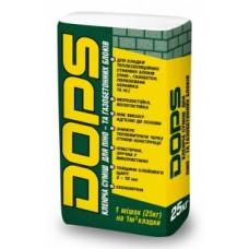 Клей для газобетонных блоков Dops