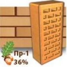 Кирпич Керамейя КлинКерам Янтарь ПР-1 36%