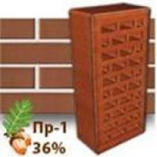 Кирпич Керамейя КлинКерам Оникс ПР-1 36%