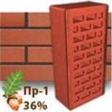 Кирпич Керамейя КлинКерам Рубин ПР-1 36%
