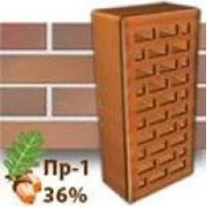 Кирпич Керамея КлинКерам Магма Диабаз ПР-1 36%