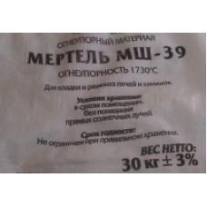 Мертель шамотный мш-39