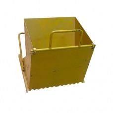 Каретка ТРВ 250 мм для кладки газоблока желтая