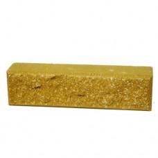 Цегла Колота ТРВ з фаскою половинка Жовта